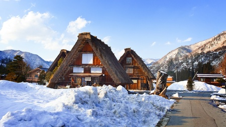 Cottage at Gassho-zukuri Village Shirakawago photo