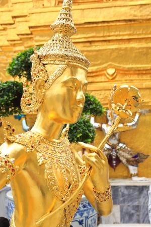 Demon Guardian at Wat Phra Kaew, Temple of the Emerald Buddha, Bangkok, Thailand Stock Photo - 19259176