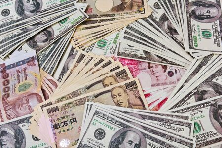 quantitative: Internation currencies portary the world financial issue on quantitative easing.