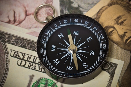 easing: Internation currencies with a compass
