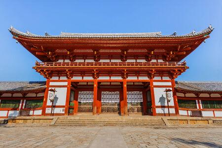 todaiji: Chu-mon gate of the Todaiji complex in Nara Editorial