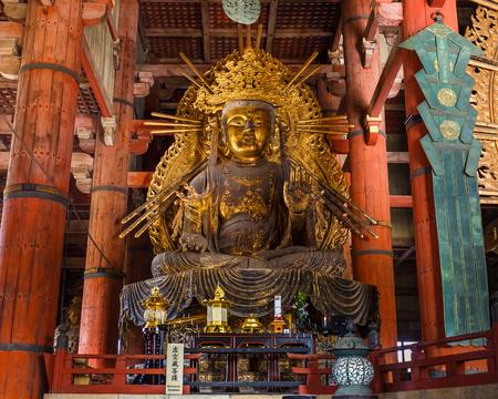 todaiji:  Kokuzo Bosatsu at Todaiji Temple in Nara