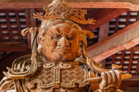 todaiji: Komokuten - The Guardians of the four coners at Todaiji Temple in Nara