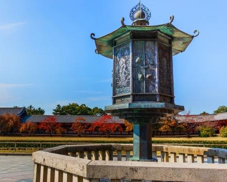 todaiji: Bronze Lantern in front of Todaiji Temple