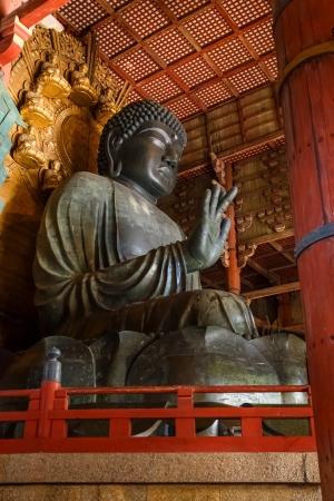 todaiji: Daibutsu at Daibutsu-den - Todaiji Temple in Nara