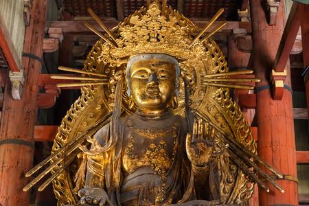 todaiji: Kokuzo Bosatsu at Todaiji Temple in Nara Editorial
