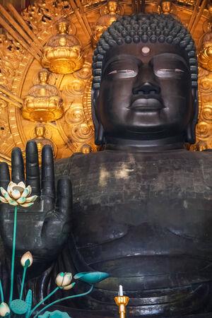 todaiji:  The Great Buddha at Todaiji Temple in Nara