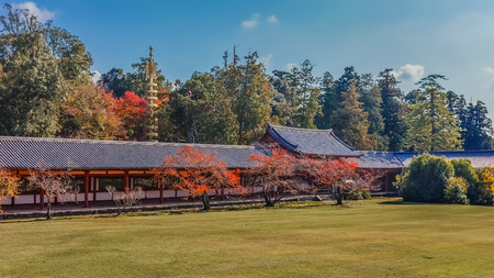 todaiji: Todaiji Wall in Nara