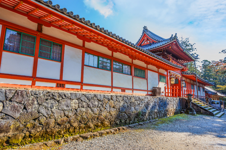 hachimangu: Tamukeyama Hachimangu in Nara Editorial