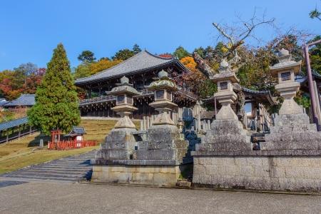 todaiji:  Nigatsu-do Hall at Todaiji Temple in Nara