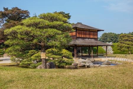 okayama: Ryuten Rest House at Korakue-en garden in Okayama