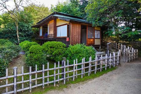 okayama: Shinden Rest House at Koraku-en Garden in Okayama