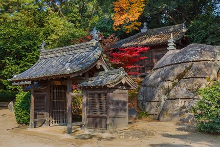 okayama: Jigen-do Shrine at Koraku-en garden in Okayama