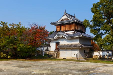 okayama: The Fort  in front of Okayama Castle