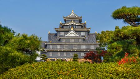 okayama: Okayama Castle or Crow Castle in Okayama