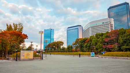 Osaka castle park Stock Photo - 25620582
