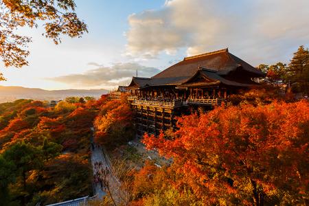 Kiyomizu-dera in Kyoto, Japan Imagens - 26255665