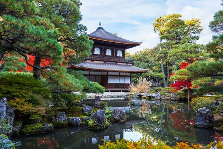 silver maple: Ginkaku-ji in Kyoto, Japan