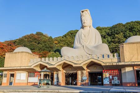 bodhisattva: Bodhisattva Avalokitesvara  Kannon  at Ryozen Kannon in Kyoto Editorial
