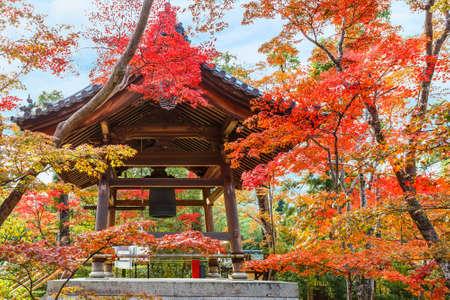 rokuonji: Belfry at Kinkakuji in Kyoto, Japan