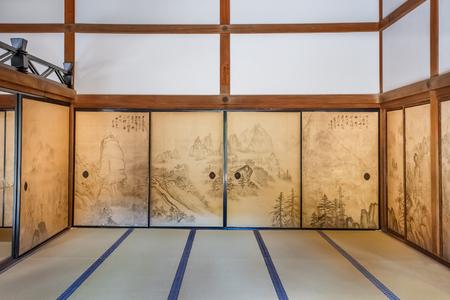 hojo: KYOTO, JAPAN - NOVEMBER 20  Hojo at Ryoanji in Kyoto, Japan on November 20, 2013  The head priest Editorial