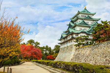 Nagoya Castle in Autumn Editorial