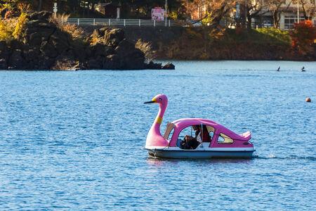 kawaguchi ko: Lake Kawaguchi  Kawaguchiko  at Fujikawaguchiko in Japan Editorial