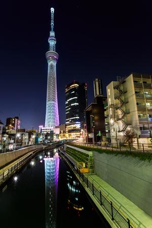 Tokyo Sky Tree in Tokyo, Japan