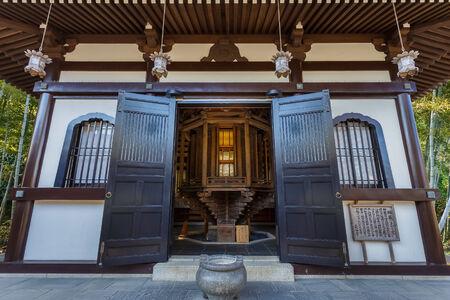 Sutras wheel - at Hasedera temple  in Kamakura Editorial