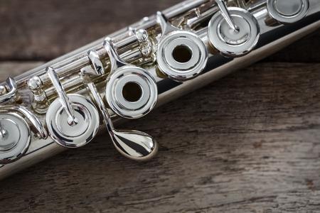 boehm flute: Moderno Flauta Concierto en una tabla de madera
