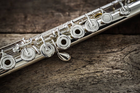 boehm flute: Modern Flauta Concierto en una tabla de madera