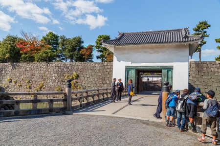 nijo: KYOTO, JAPAN - OCTOBER 23: Nijo Castle  in Kyoto, Japan on October 23, 2014. Editorial