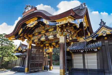 nijo: Nijo Castle in Kyoto, Japan