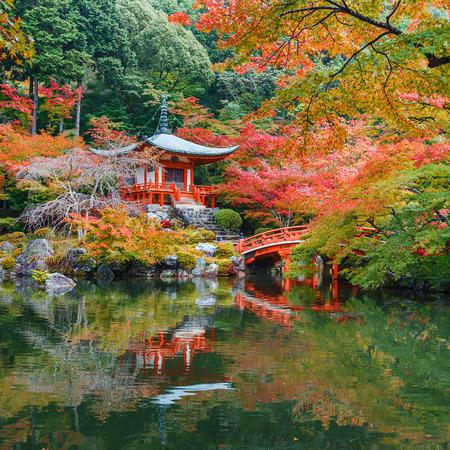 momiji: Early Autumn at Daigoji Temple in Kyoto, Japan