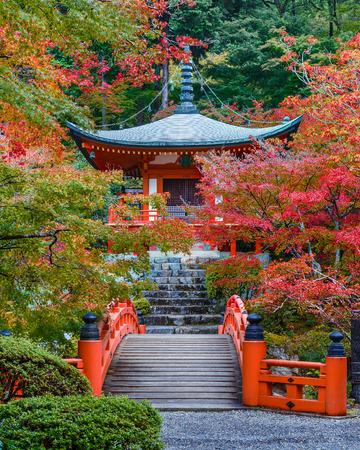 bouddha: D�but de l'automne au Daigoji Temple � Kyoto, Japon