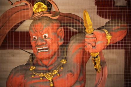 benevolent: Nio (Benevolent Kings) at Shitennoji Temple in Osaka, Japan