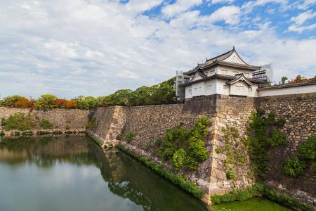 osakajo: Turret at Osaka Castle in Osaka, Japan