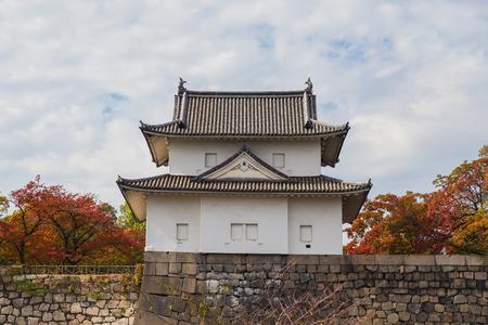 turret: Turret at Osaka Castle