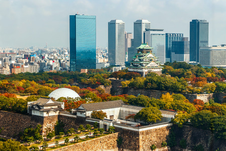 osakajo: Osaka Castle in Osaka Japan