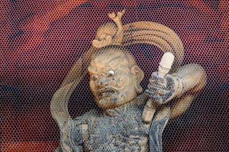 benevolent: Nio Benevolent Kings at Daimon Gate in Koyasan Mt. Koya area in Wakayama, Japan