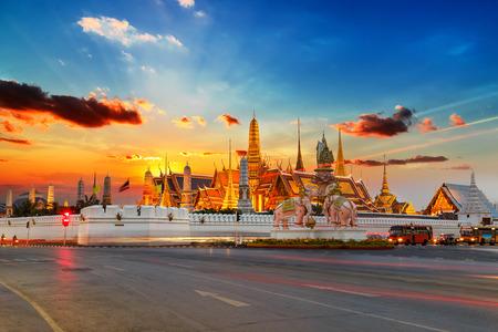 Wat Phra Kaew in Bangkok, Thailand Reklamní fotografie