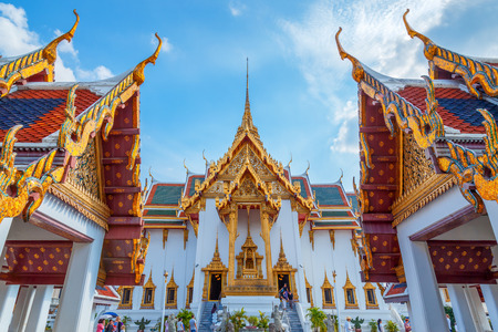 thailand art: The Grand Palace of Thailand in Bangkok