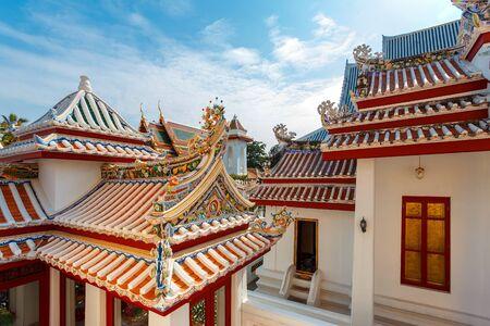wat bowon: Wat Bovorn Bowon Nivet Viharn in Bangkok, Thailand