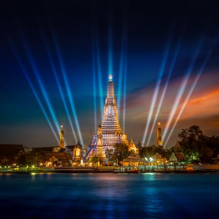 Bangkok, Thailand - December 19 2014: Wat Arun is a socalled