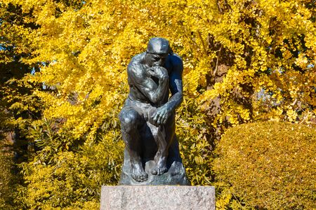 rodin: National Museum of Western Art is the premier public art gallery, specializing in Western traditional art, located in museum and zoo complex in Ueno Park