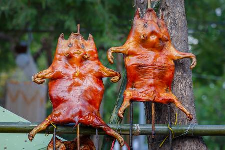 spanferkel: Barbecued Suckling Pig
