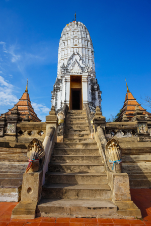 Watv Phutthaisawan Temple in Ayutthaya Historical Park, UNESCO World Heritage Site in Thailand