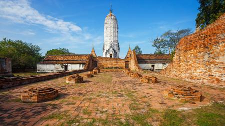 Wat Phutthaisawan Temple in Ayutthaya Historical Park, UNESCO World Heritage Site in Thailand