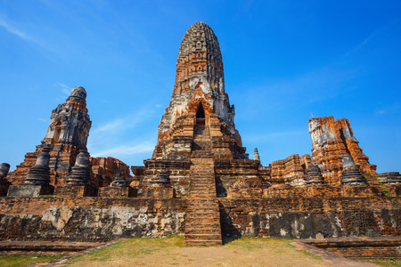 ayuthaya: Wat Phra Ram Temple in Ayuthaya Historical Park, a UNESCO world heritage site in Thailand