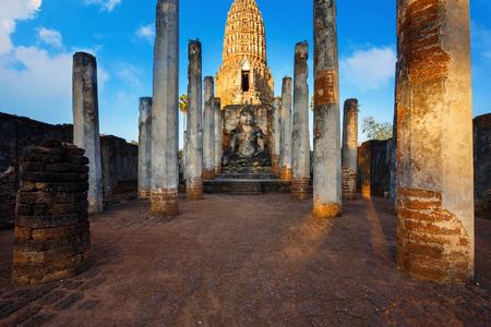 ayuthaya: Wat Phra Si Rattana Mahathat - Chaliang  at Si Satchanalai Historical Park, a UNESCO World Heritage Site in Thailand